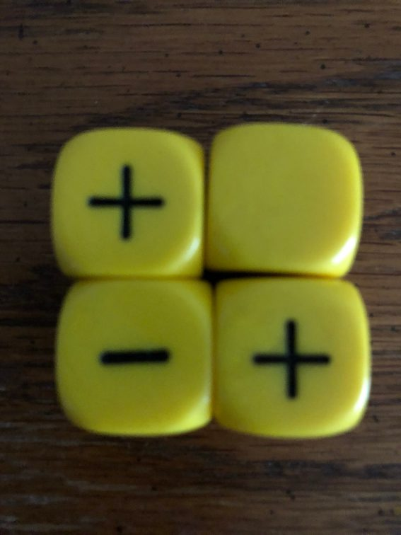 4 Fudge Dice